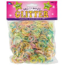 Loom Band Refill Pack - Glitter